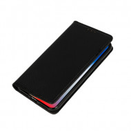 Capa Flip Cover Samsung Galaxy A01 Preto Telone Smart Book