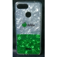 Cover Silicone Bling Glitter For Huawei Y7 2018 Apple