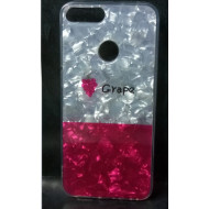 Cover Silicone Bling Glitter For Huawei Y7 2018 Grape