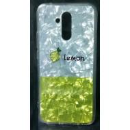 Cover Silicone Bling Glitter For Huawei Mate 20 Lite Lemon