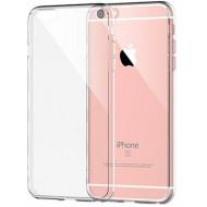 Silicone Cover Case Apple Iphone 6 Plus (5.5) Transparente