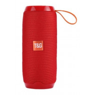 Speaker Tg106 Portable Wireless With Bluetooth Red