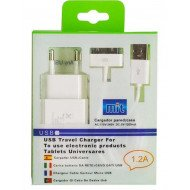 New Science Charger Adapter For Iphone 4 / 4s 1.2a