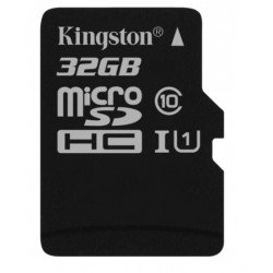 Memory Card Kingston 32gb Class 10 Microsd Sdhc With Adapter