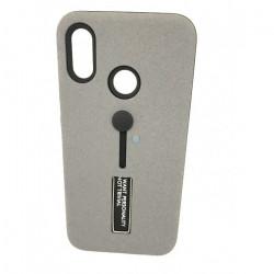 Cover Kickstand Matte With Finger Strap Xiaomi Redmi Note 5 Pro Grey
