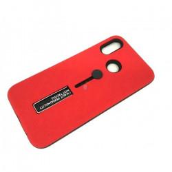Cover Kickstand Matte With Finger Strap Xiaomi Redmi Note 5 Pro Red