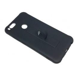 Silicone Case Motomo With Finger Ring For Xiaomi Mi A1 Black