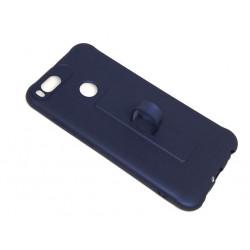 Silicone Case Motomo With Finger Ring For Xiaomi Mi A1 Blue