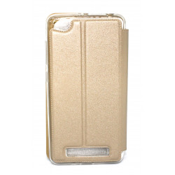 Flip Cover With Candy Xiaomi Redmi 4a Gold