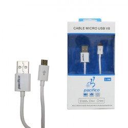Cable Pacifico Micro Usb 8600 V8 3m