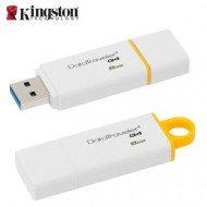 Pen Drive Kingston 8GB Usb Flash 3.1 / 3.0 / 2.0 G4 - Dtig4/8GB