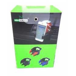 Suporte De Telemóvel Para Carro New Science Ref 3601 With Other Products Joint Preto