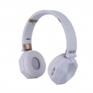 Headphone Ac-6 Wireless Stereo Bluetooth White