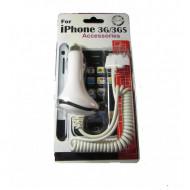 Carregador Isqueiro Iphone 3g / 3s 4 / 4s White