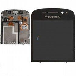 Touch+Lcd Blackberry Q10 Black