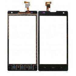 Touch Huawei Ascend G740 / Orange Yumo Black
