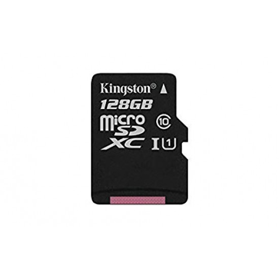 Memory Card+Adapter Kingston Digital 128gb Microsdxc Class 10 Uhs-I 45mb/S (Sdc10g2/128gb)