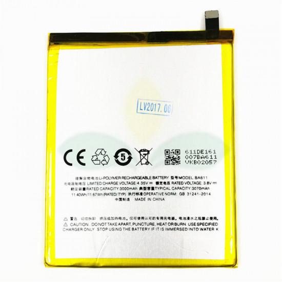 Battery Ba611 Meizu M5 3000mah Bulk