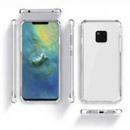 Capa Silicone Anti-Choque Huawei Mate 20 Lite Transparente