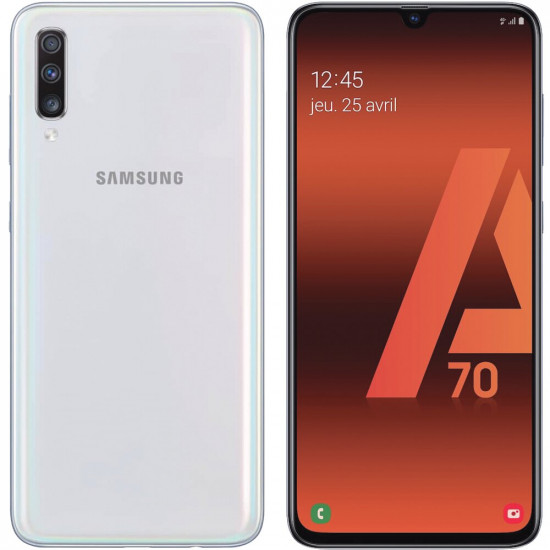 Smartphone Samsung Galaxy A70 6gb/128gb Dual Sim Sm-A705fn/Ds 6.7 Branco