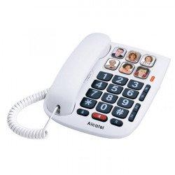 Telefone C/Fios Alcatel Tmax 10 White
