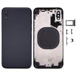 Tampa Traseira Apple Iphone Xs Max (Com Chassi) Preto