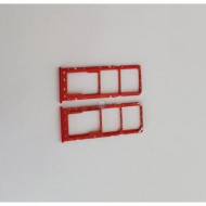Sim Holder Samsung A10 A105 Red