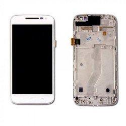 Touch+Display With Frame Motorola Moto G4 Play Xt1603, Xt1601, Xt1601, Xt1604 White