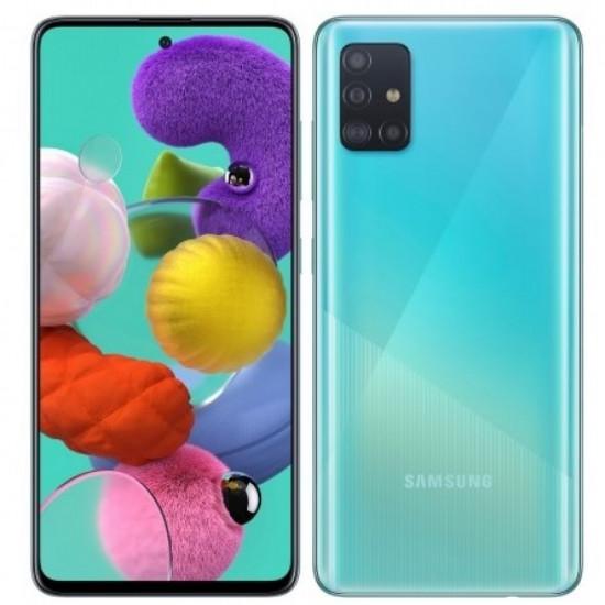 Smartphone Samsung Galaxy A51 Sm-A515f/Dsn Azul 4gb/128gb Dual Sim 6.5