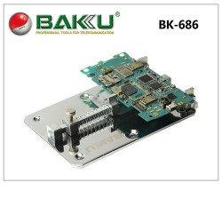 Baku Bk-686 Pcb Holder Operating Instruction Opening Tools