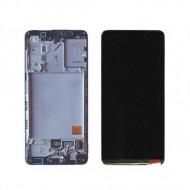 Touch+Display Com Frame Samsung Galaxy A415 (A41 20) (Gh82-22860a) Black