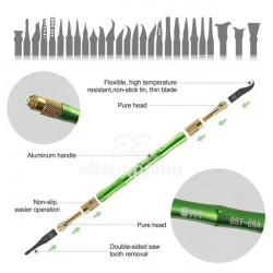 Best Bst-69a Bga Repair Blade Set Art Knife Demolition Cpu Tool Kits