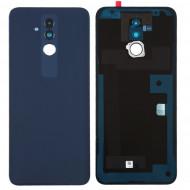 Tampa Traseira Huawei Mate 20 Lite Com Camera Lens Azul