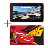 Hero Tablet Estar With Car Case 1gb/8gb Mid7388r-C  7 Red