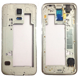 Middle Frame Samsung Galaxy S5 I9600 G900f G900h Branco
