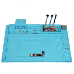 Anti-Static Silicone Mat With Thermal Insulation For Working Surfaces
