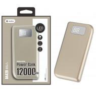 Power Bank Oneplus D4429 Or Eclipse 12000mah Dourado