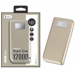 Power Bank Oneplus D4429 Or Eclipse 12000mah Gold