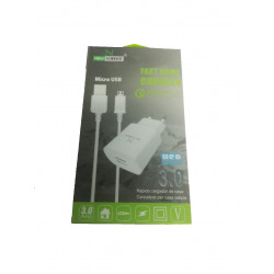 New Science Micro Usb Charger 8600 V8 3a White