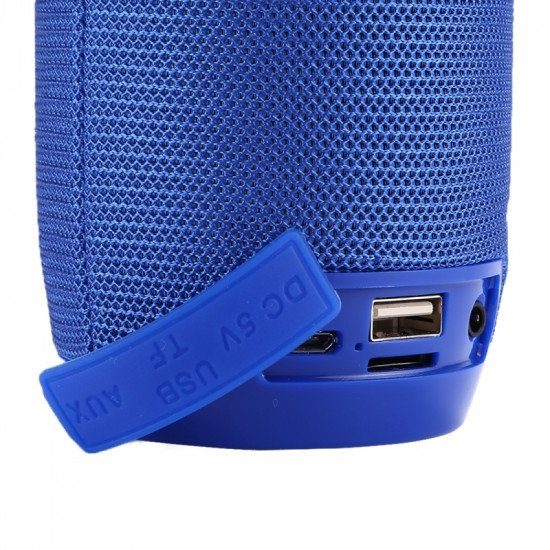 Speaker Tg106 Portable Wireless With Bluetooth Blue