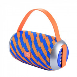 Speaker Tg112 Portable Wireless With Bluetooth Blue/Yellow
