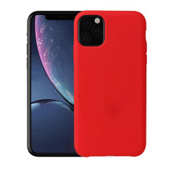 Apple Iphone 11 Silicone Case Flexible Corner Color Red