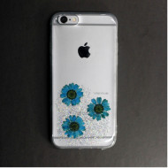 Apple Iphone 6 Vennus Real Flower Silicone Case Amelia