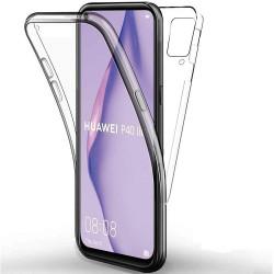 Capa Silicone Dura 360º Huawei P Smart 2021 Transparente