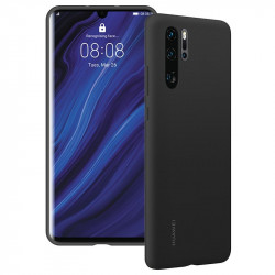 Silicone Cover Case 1.5 Mm Huawei P30 Lite Mat Black