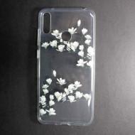 Samsung Galaxy A40 Silicone Case Flower Design Magnolia