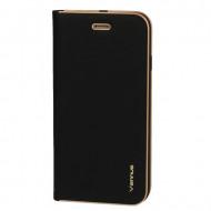 Flip Cover Vennus Book Case With Frame Para Huawei Y5p Black