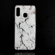 Samsung Galaxy A20e Hard Cover With Marble Stone Design