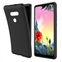 Silicone Mat Case For Matt Lg K50s Black