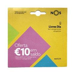Card Nos Com O Tarifario Livres Dia Inclui Oferta De 2.50€ Saldo